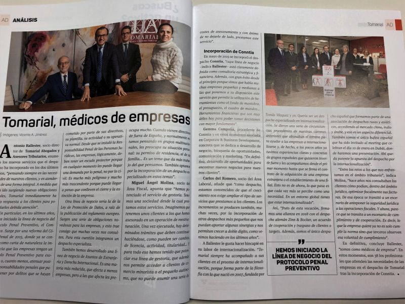 En Economía 3: Tomarial, médicos de empresas