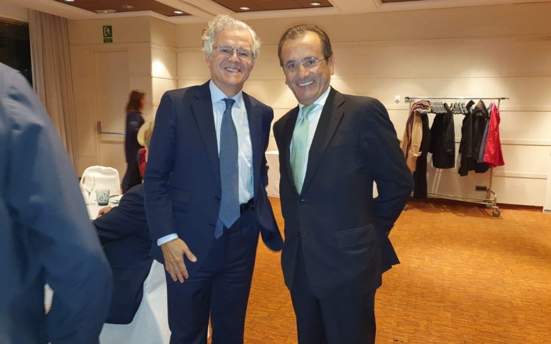 Encuentro con Sebastián Albella, presidente de la CNMV