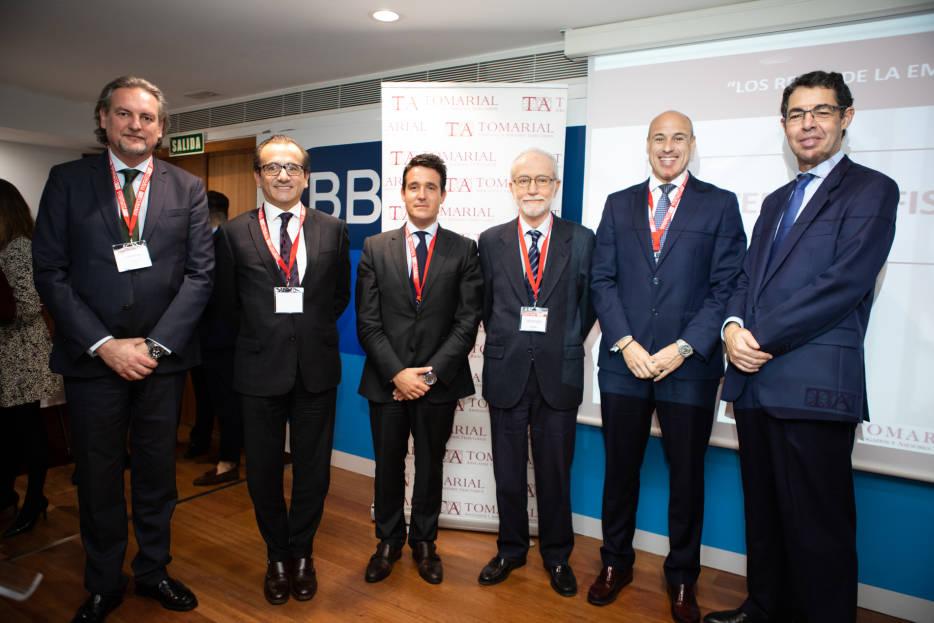 Los expertos de Tomarial exponen a las empresas los retos de 2020 en materia fiscal, laboral y mercantil
