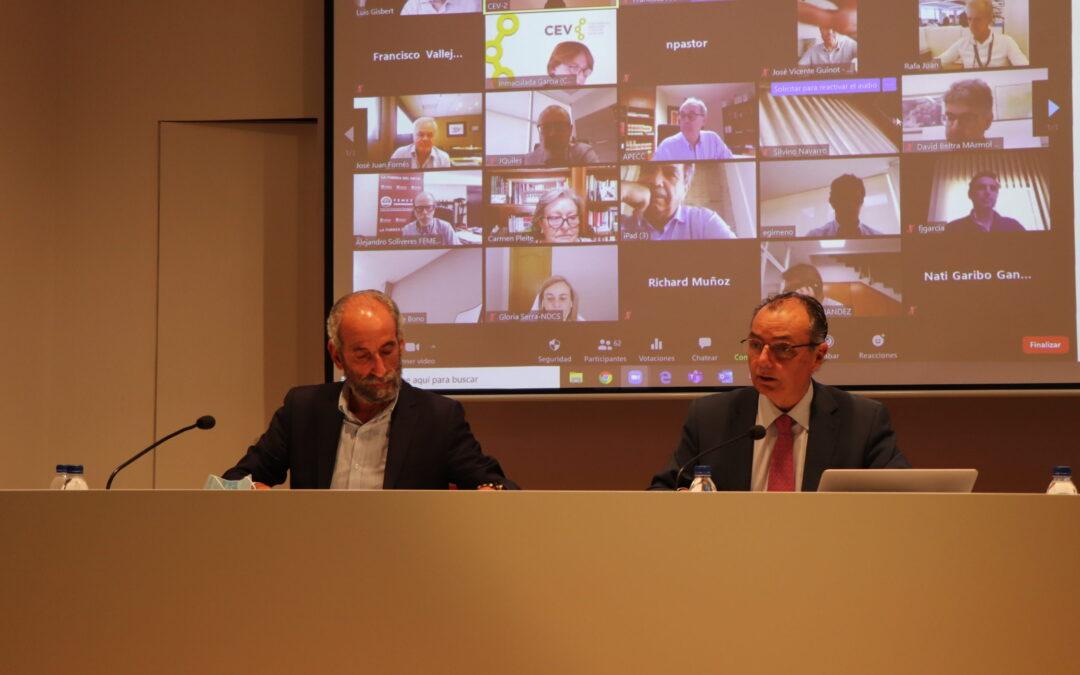 Tomarial se incorpora a la Confederación Empresarial de la Comunitat Valenciana