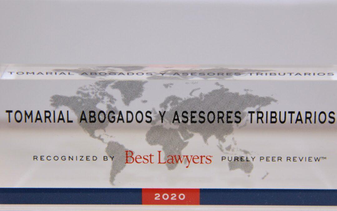 Best Lawyers incluye a Tomarial en su directorio y distingue a Antonio Ballester en la edición Global Business