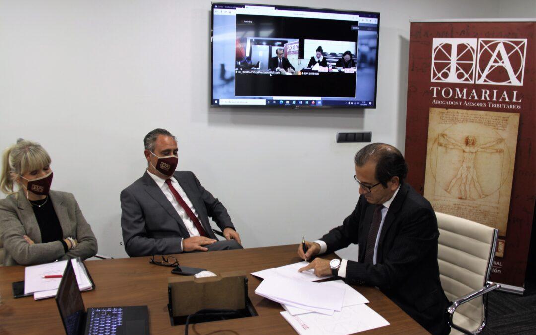 Tomarial firma un acuerdo de colaboración internacional con el despacho chino Jingsh