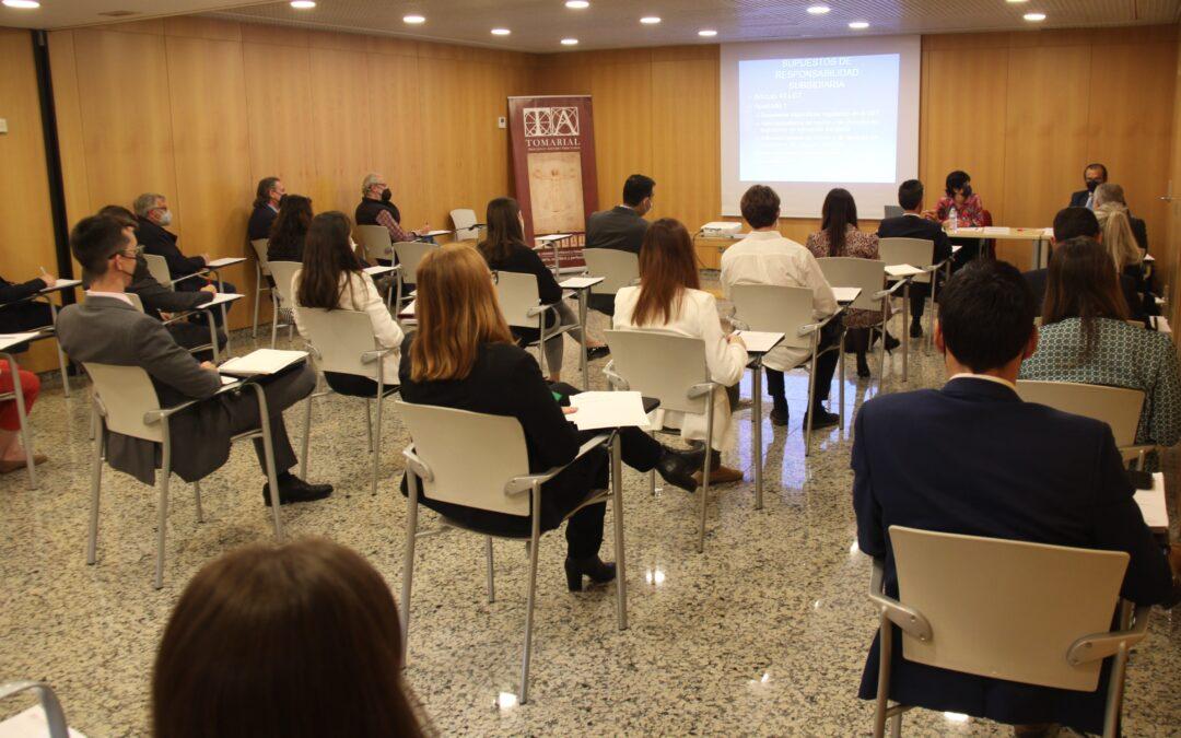 Celebramos una sesión técnica de fiscalidad con la catedrática Ana María Juan