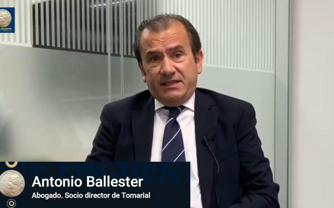 Antonio Ballester opina en el Club de Encuentro Manuel Broseta sobre la recuperación tras la pandemia